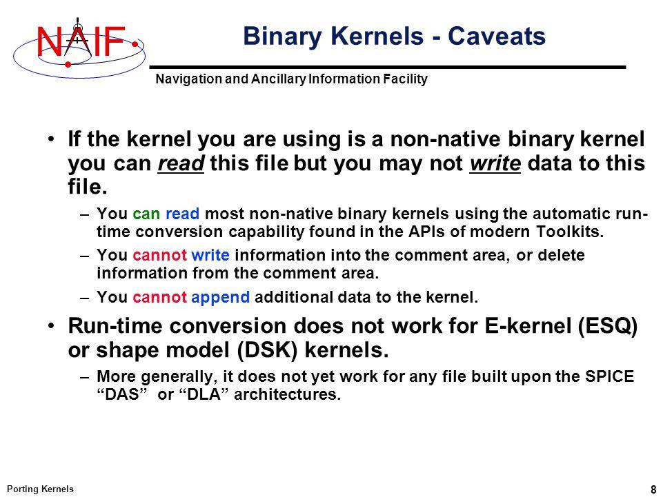 """Presentation """"Navigation and Ancillary Information Facility NIF ..."""
