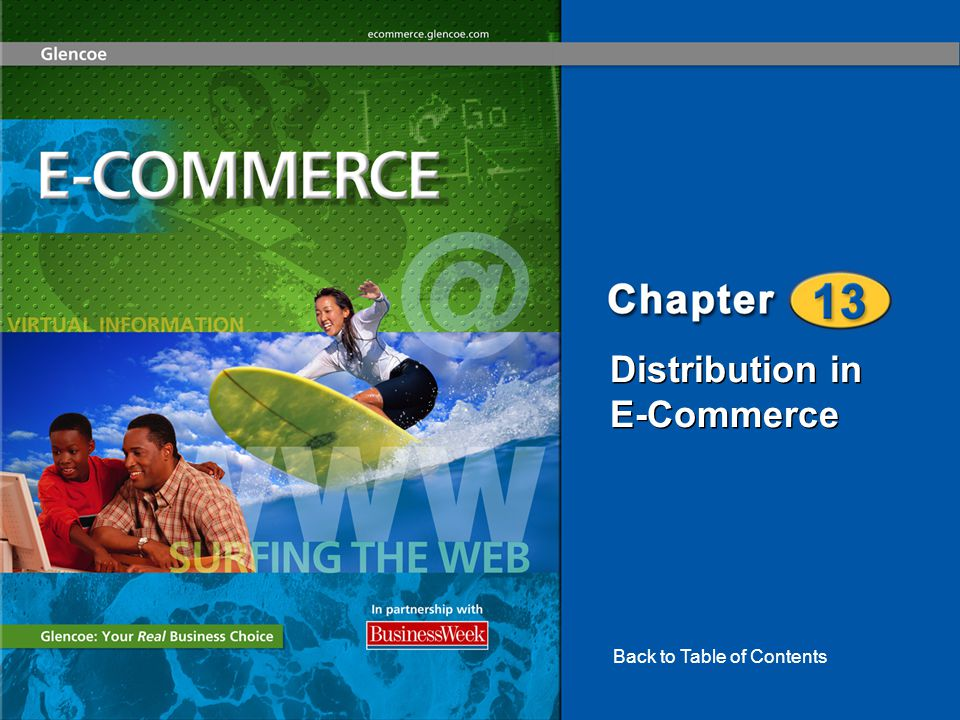 Distribution in E-Commerce Back to Table of Contents