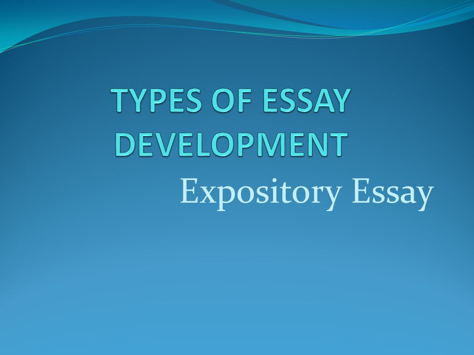 expository book essay