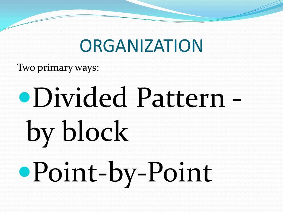block point essay