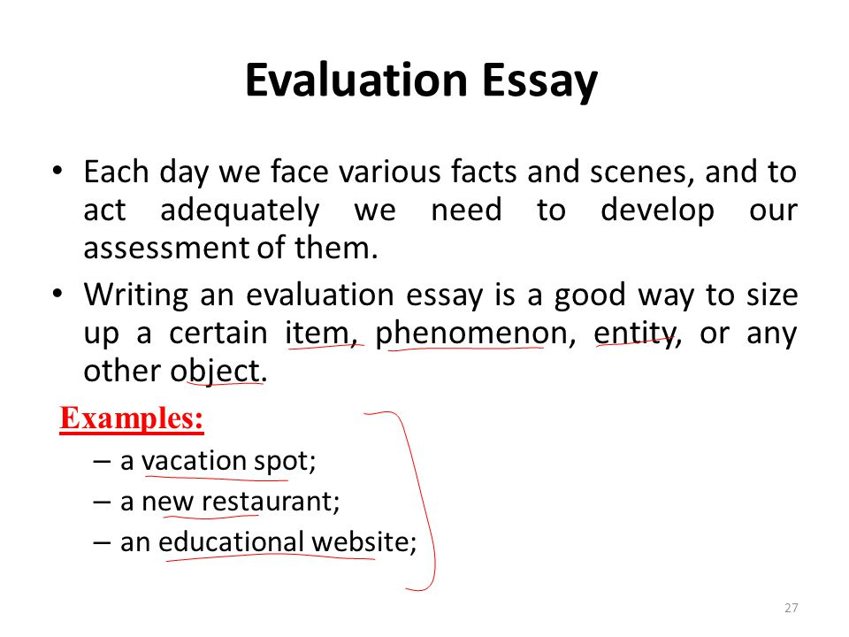 evaluation and education essay Example analysis-evaluation essays #1 therefore proper education analysis evaluation essay #1 19 february 2001.