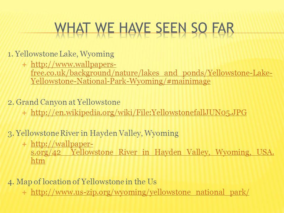 IMAGES Yellowstone Lake Wyoming Freecoukbackground - Yellowstone us map