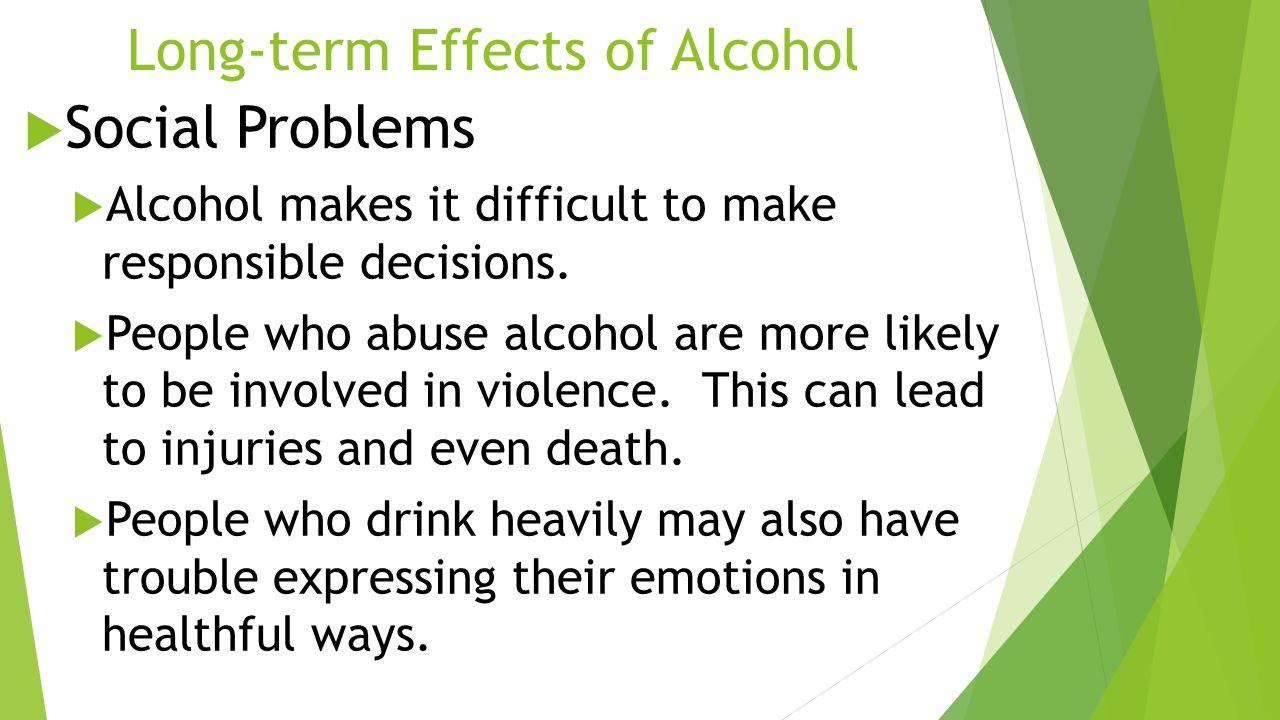 alcoholism as a social problem