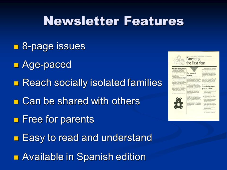 Parenting newsletter project your name here university of wisconsin 3 newsletter solutioingenieria Image collections