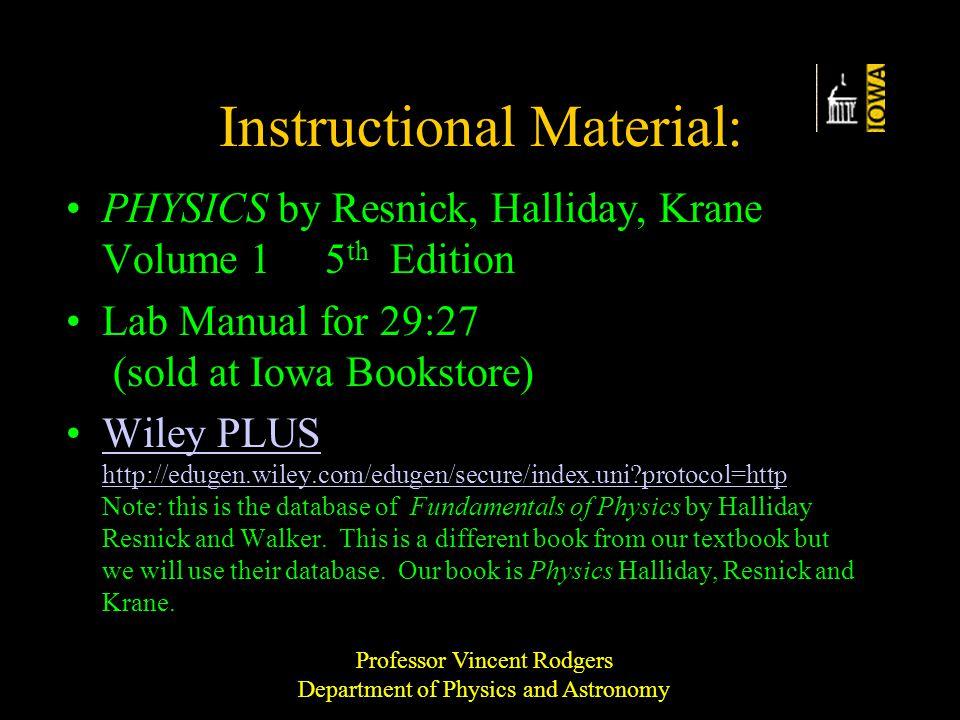 resnick halliday book