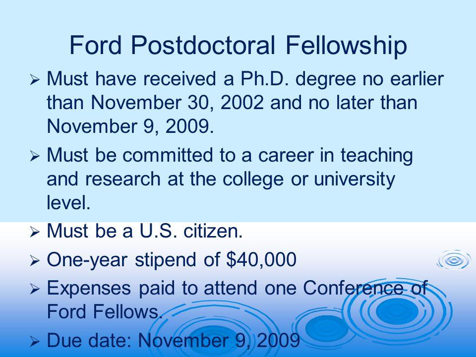 dissertation funding opportunities