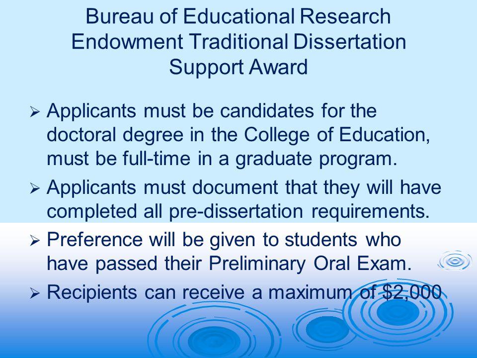 American educational research association dissertation grants