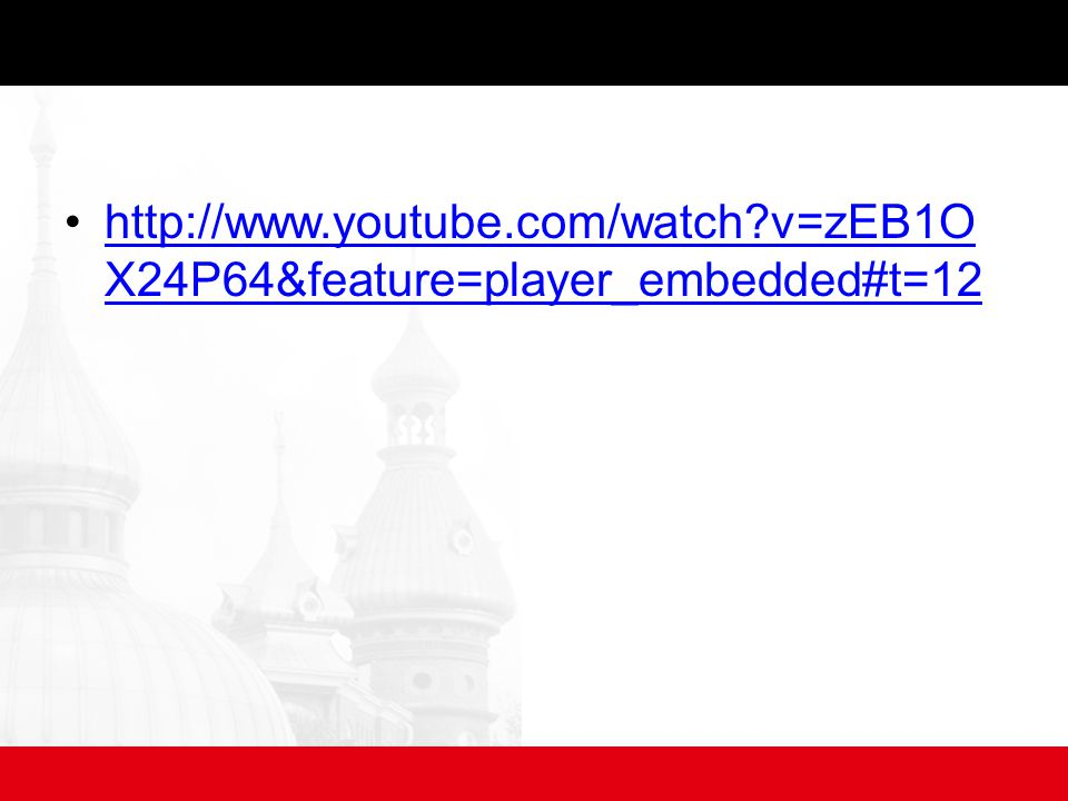 v=zEB1O X24P64&feature=player_embedded#t=12http://  v=zEB1O X24P64&feature=player_embedded#t=12