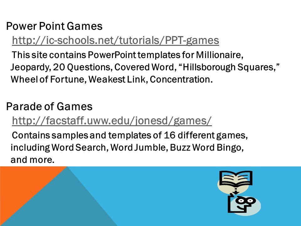 ESL Templates PPT Games Templates ESL Games Templates - mandegar.info