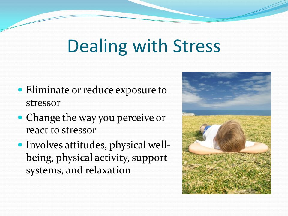Why should we practice stress management.