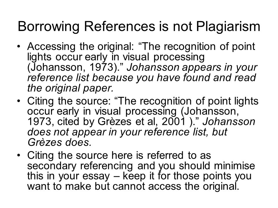 How to not plagiarize a college essay?