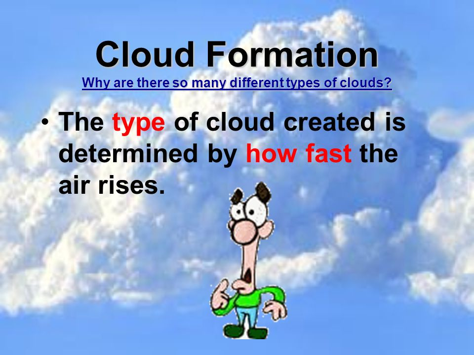 Clouds and Weather Prediction. In this activity you will: Learn ...