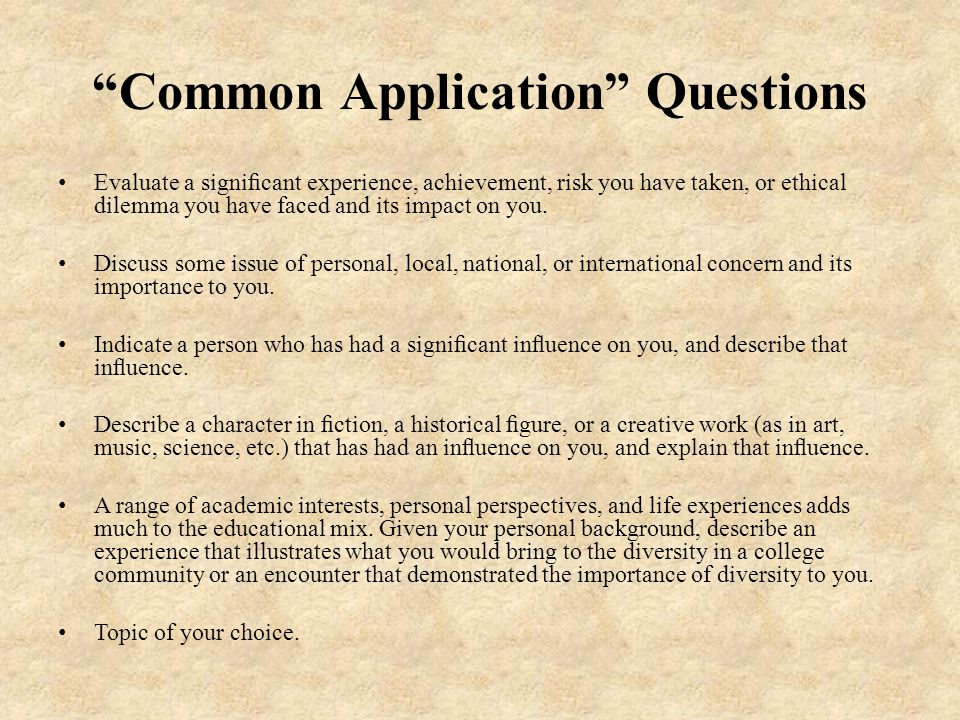 "common app significant experience essay How to write the common app essay prompt about failure today we continue our series of posts on common application essay topicsthe second prompt asks students to, ""recount an incident or time when you experienced failure."