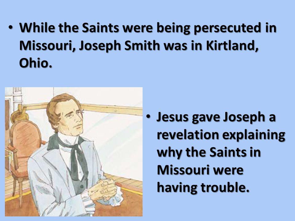 But the Saints still had faith in God. But the Saints still had faith in God.