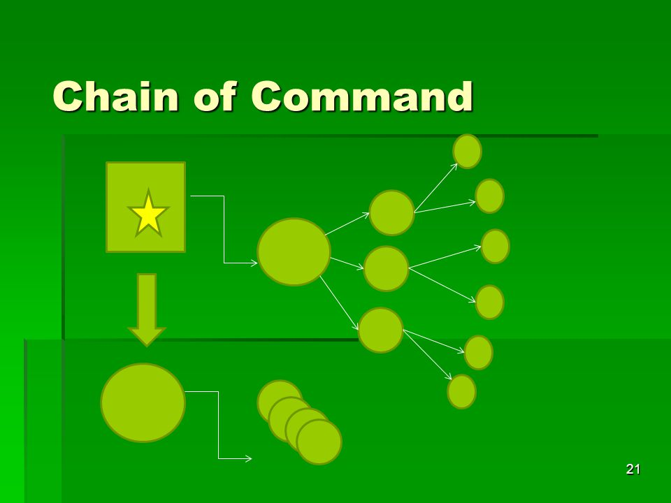 21 Chain of Command
