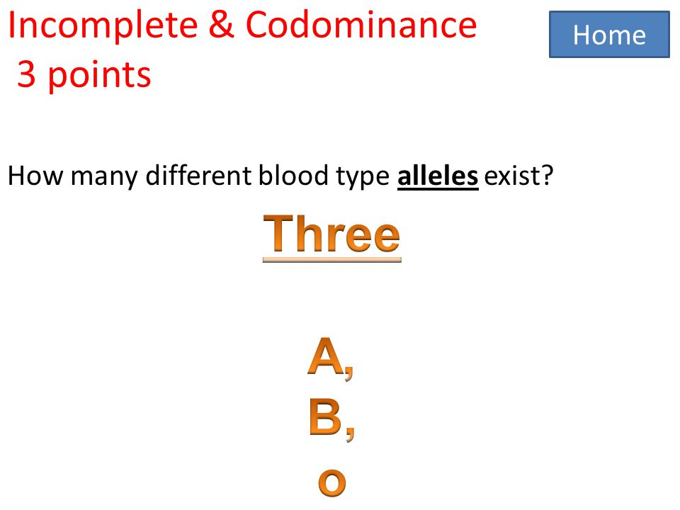 Genetics Jeopardy Autosomal recessive Autosomal dominance Sex – Incomplete and Codominance Worksheet Answers