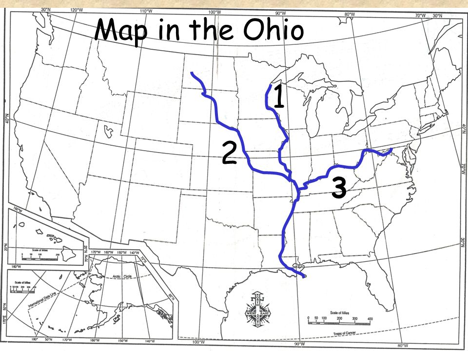 Map in the Ohio 2 1 3