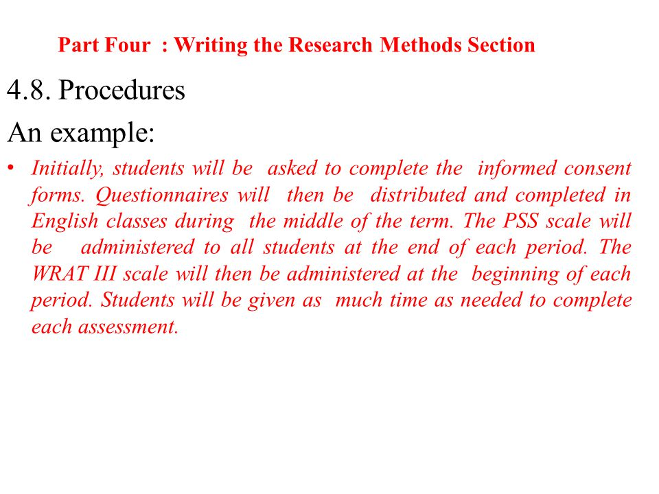 methodology writing essay