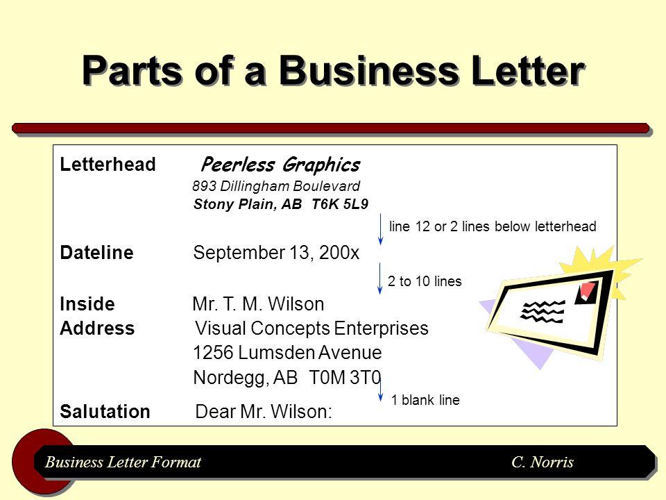 3 Business Letter FormatC