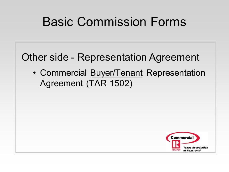 Tar Buyer Representation Agreement Choice Image Agreement Letter