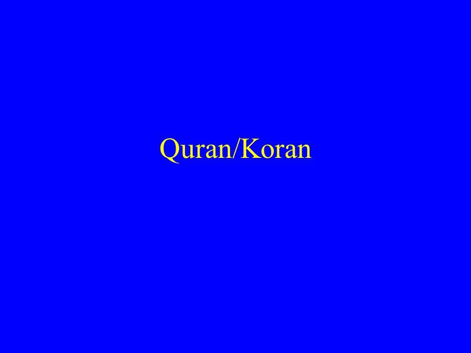 Quran/Koran