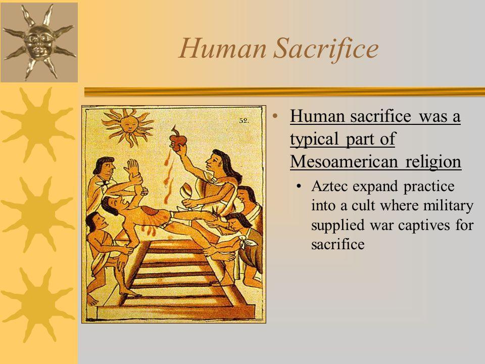 sacrifice humain aztéque