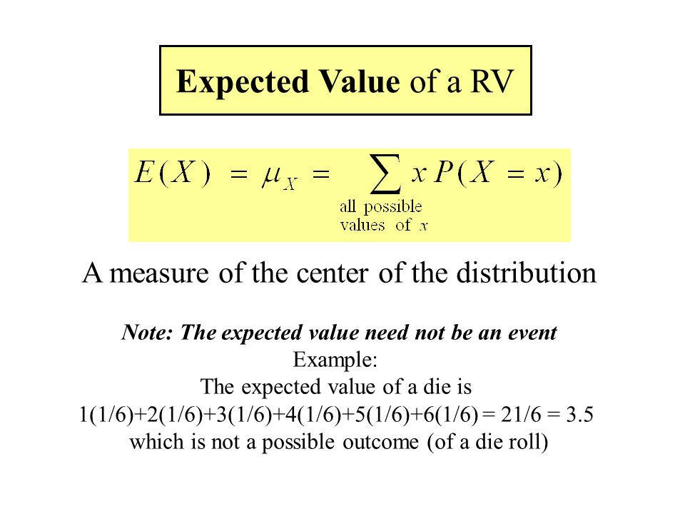 Expected Value Mean Variance Independence Transformations Of