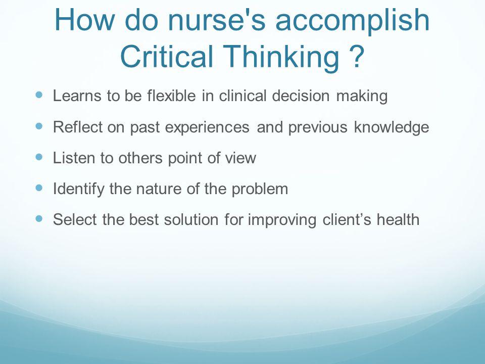 knowlege of nursing essay