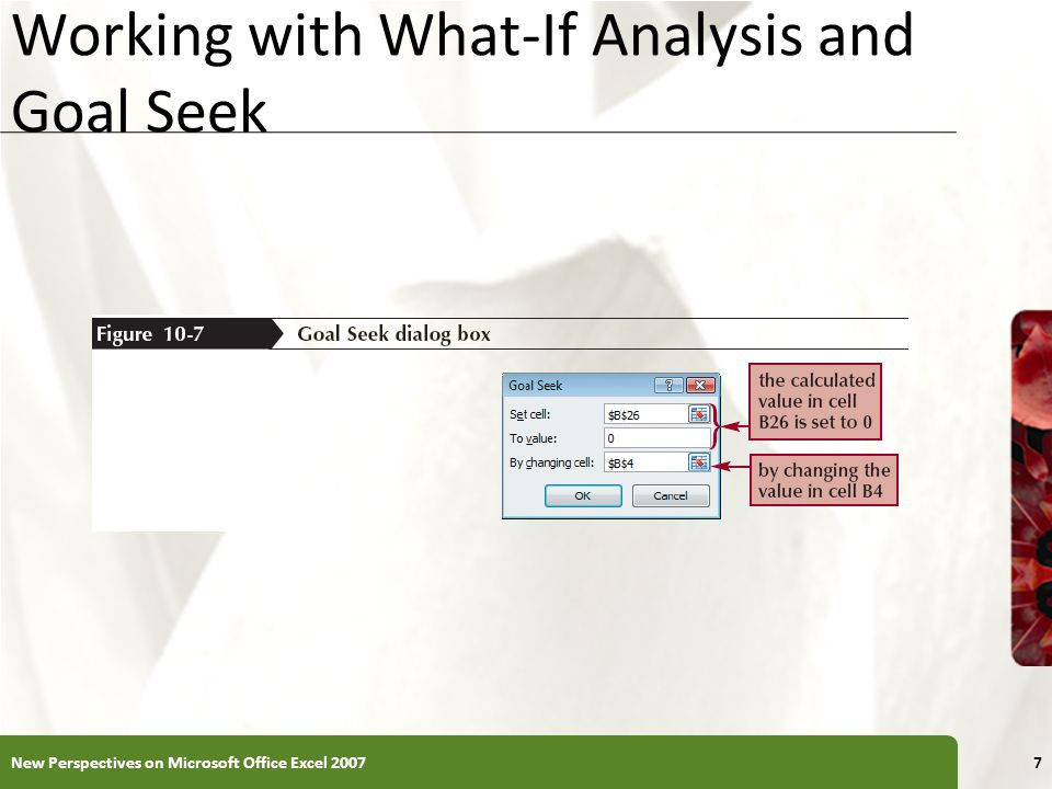 Excel 2007 goal seak interest