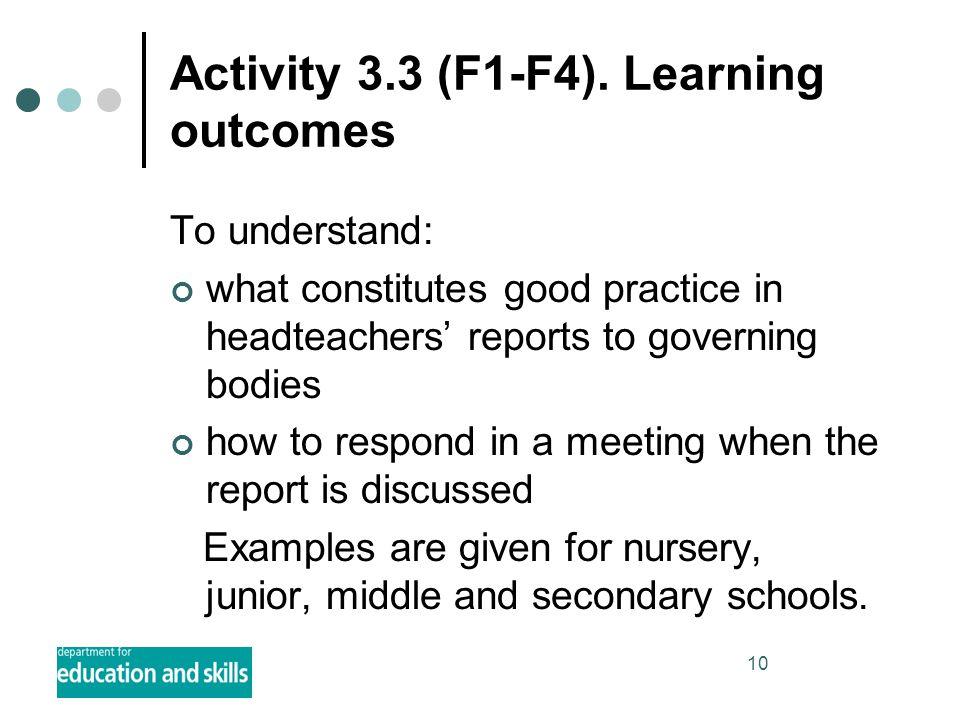 10 Activity 3.3 (F1-F4).