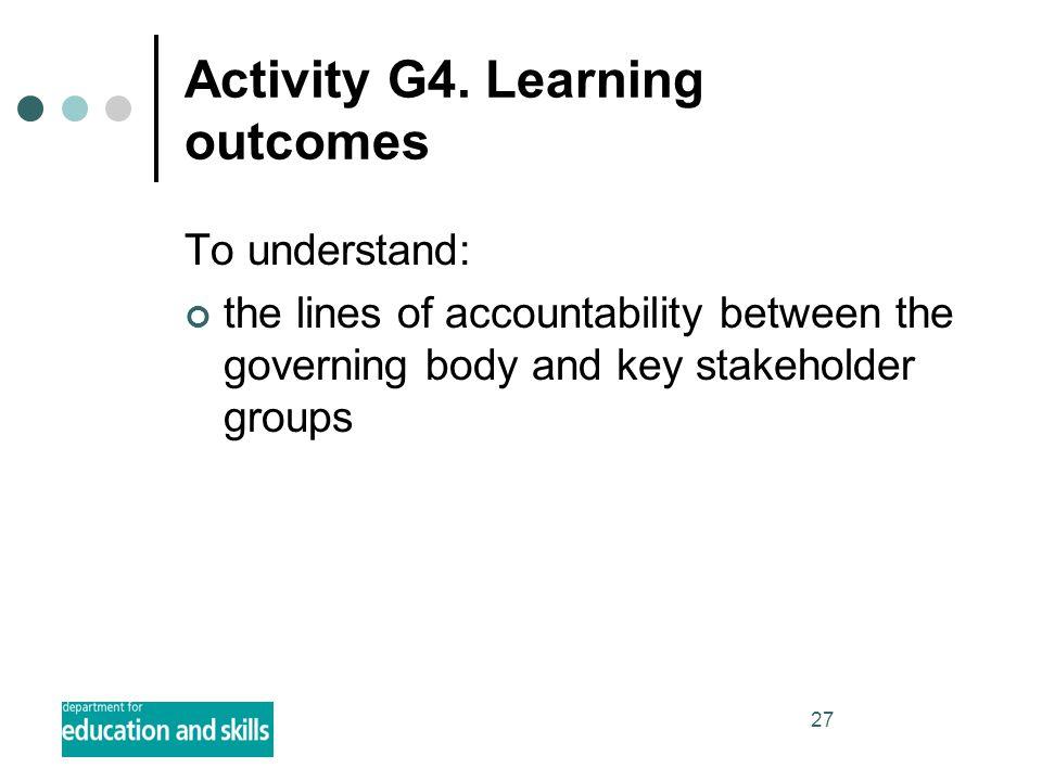 27 Activity G4.