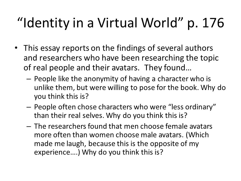 Where can i buy an essay online virtual world