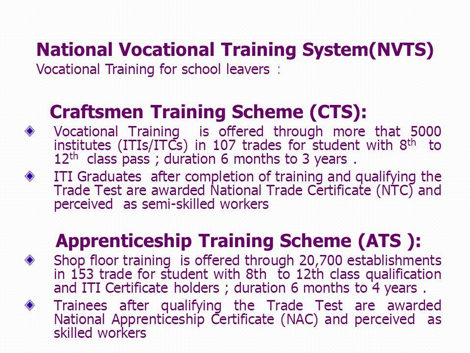 vocational training certificate