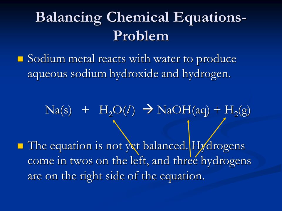 how to write chemical equations First, we will write the chemical equation with the formulas of the reactants and the expected products then we will balance the equation the expected products are water and barium nitrate, so the initial chemical reaction is.