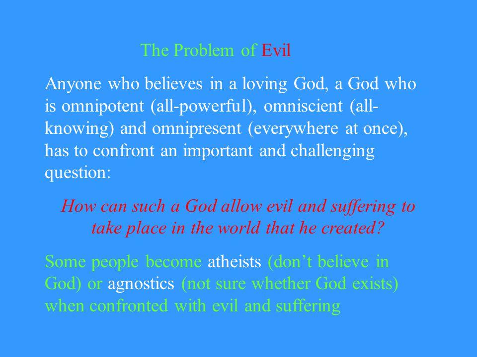 problem of evil and god