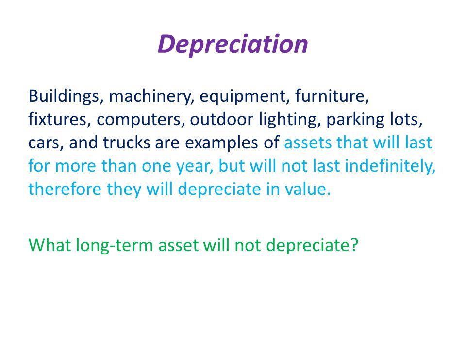 depreciating computer equipment