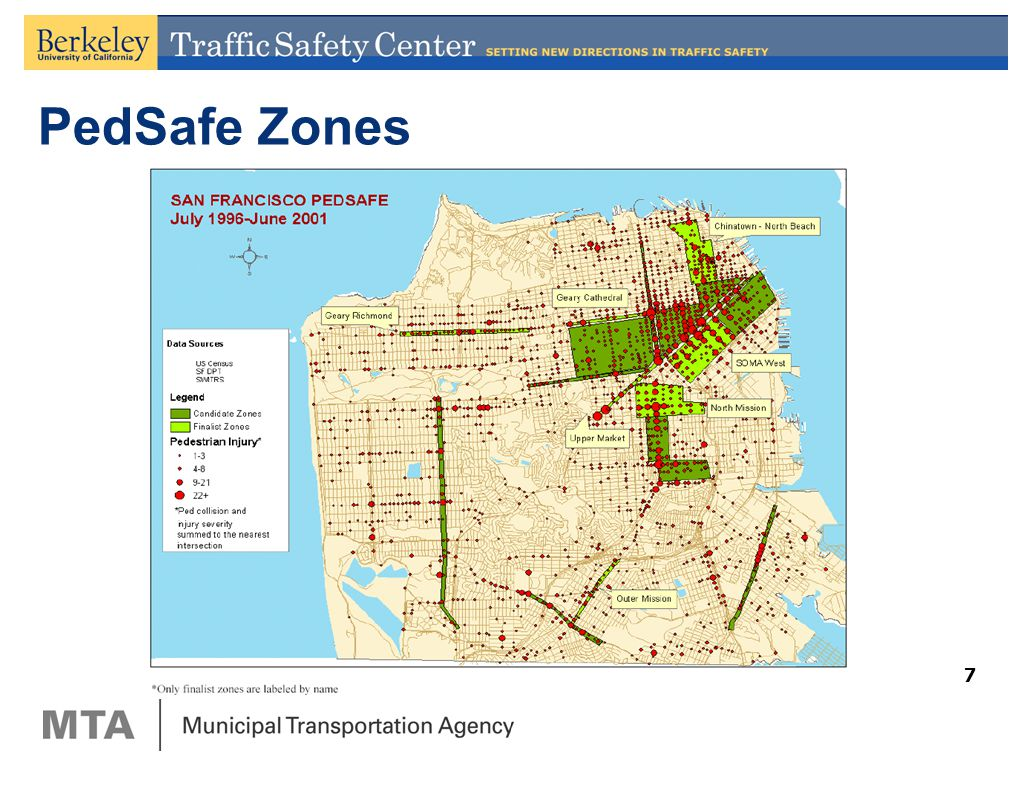 In partnership with FHWA PedSafe The San Francisco MTAUC