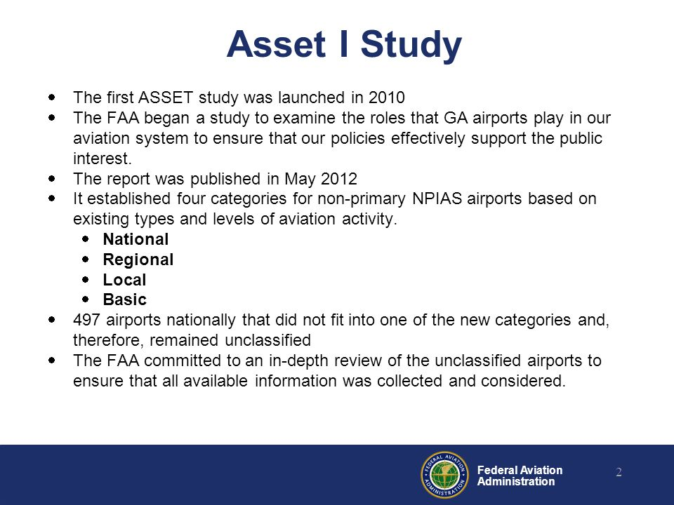 Presented To By Date Federal Aviation Administration What Does - Airports in california