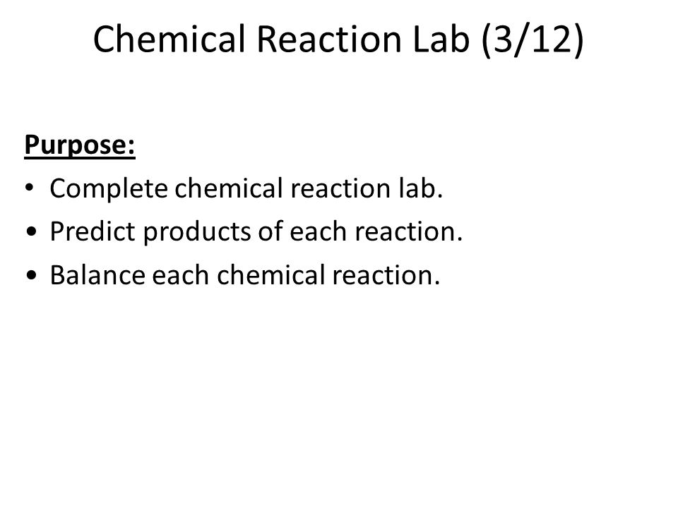Chemical Reactions. Chemical Reactions Study Guide Chpt. 9.4 Acids ...