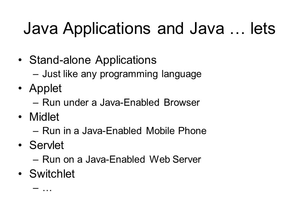 How Will Java Change My Life.