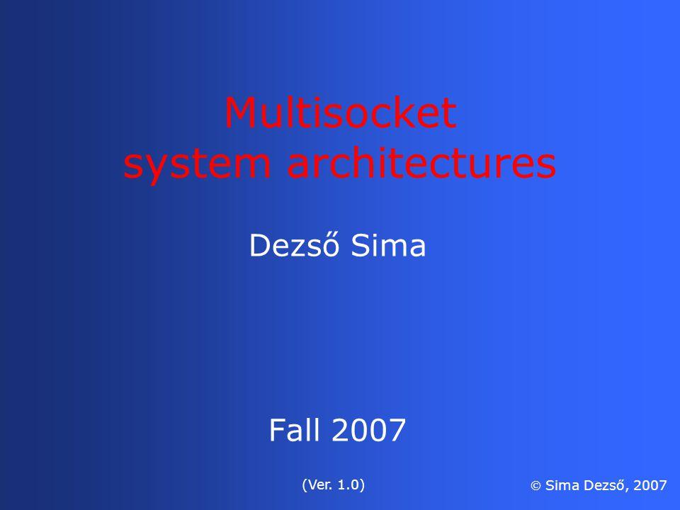 Advanced Computer Architecture Dezso Simarar