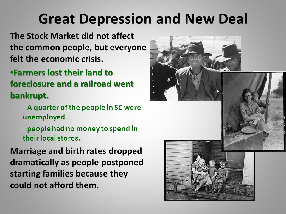 the history of the great depression and its effect on the us economy The great depression in the united states began in 1929 and ended in 1941 it was the worst economic crisis in the history of the us the whole world was negatively impacted by the great depression.
