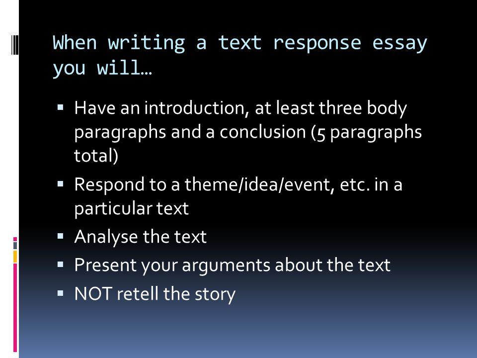 Essay help? Please respnd.?