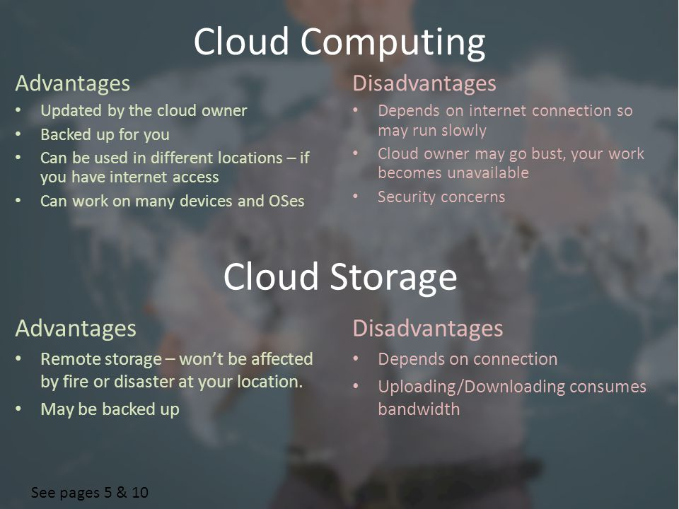 4 Cloud Computing Advantages