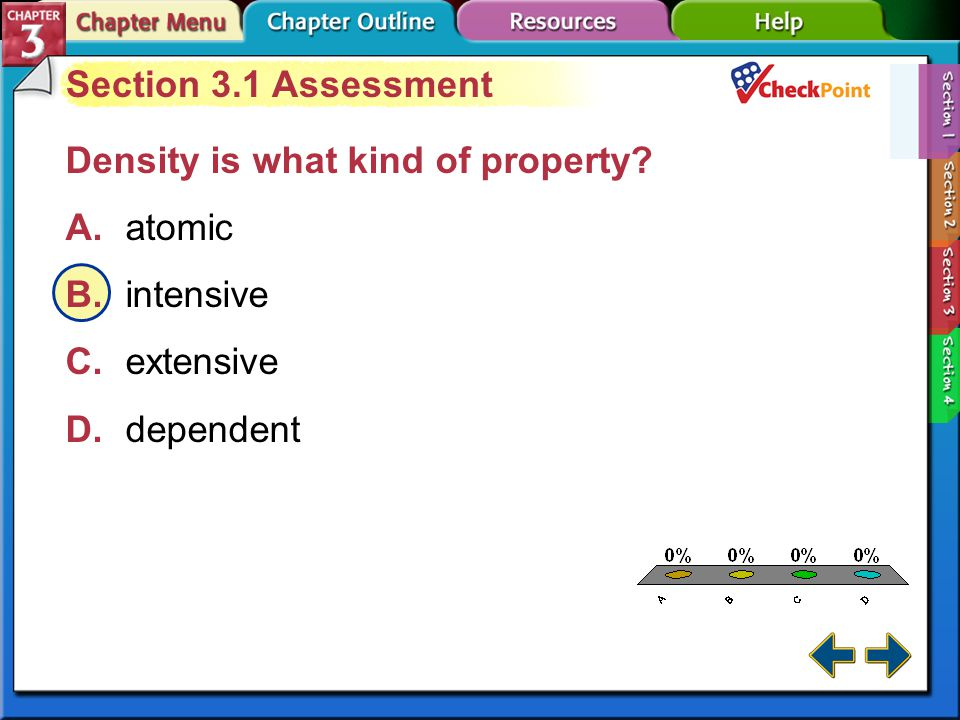 Section 3-1 Observing Properties of Matter A substance can change form–an important concept in chemistry.