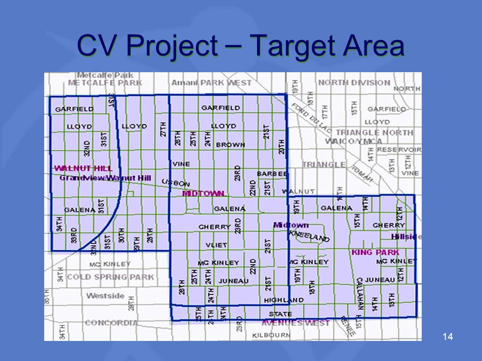 14 CV Project – Target Area