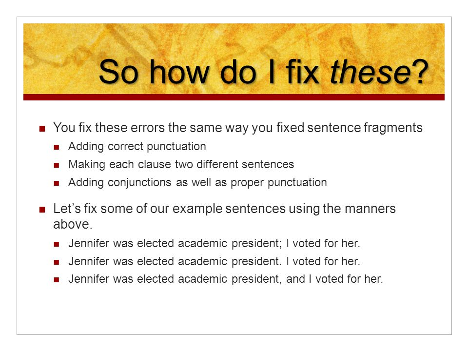 Can you help me with inserting the correct punctuation in these sentences?