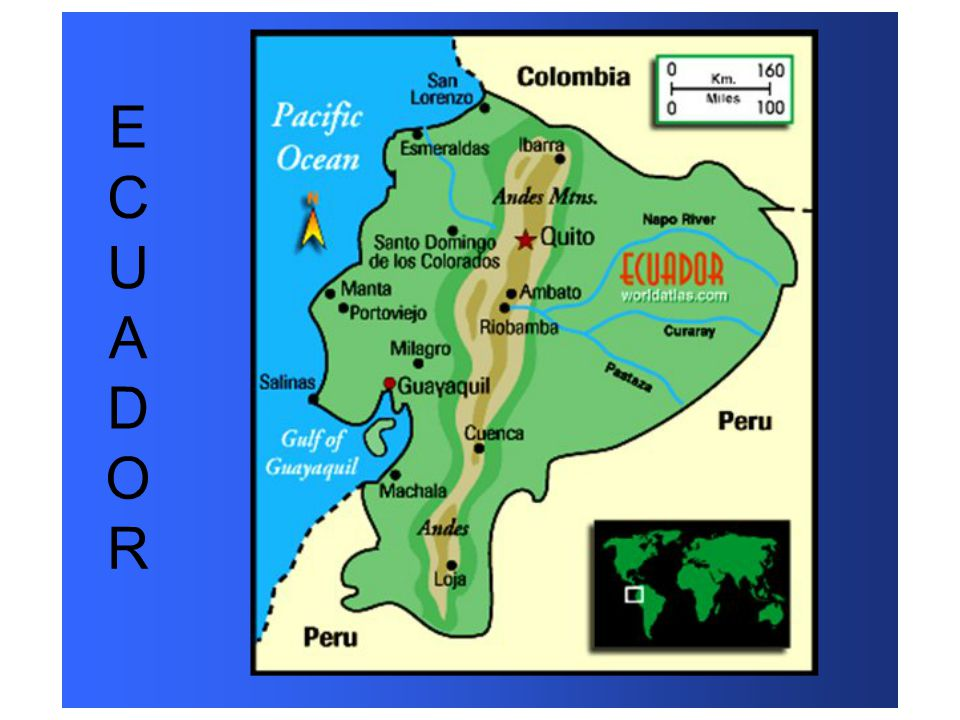 Las Islas Galápagos Where Are The Galapagos Islands Located They - Where is ecuador located
