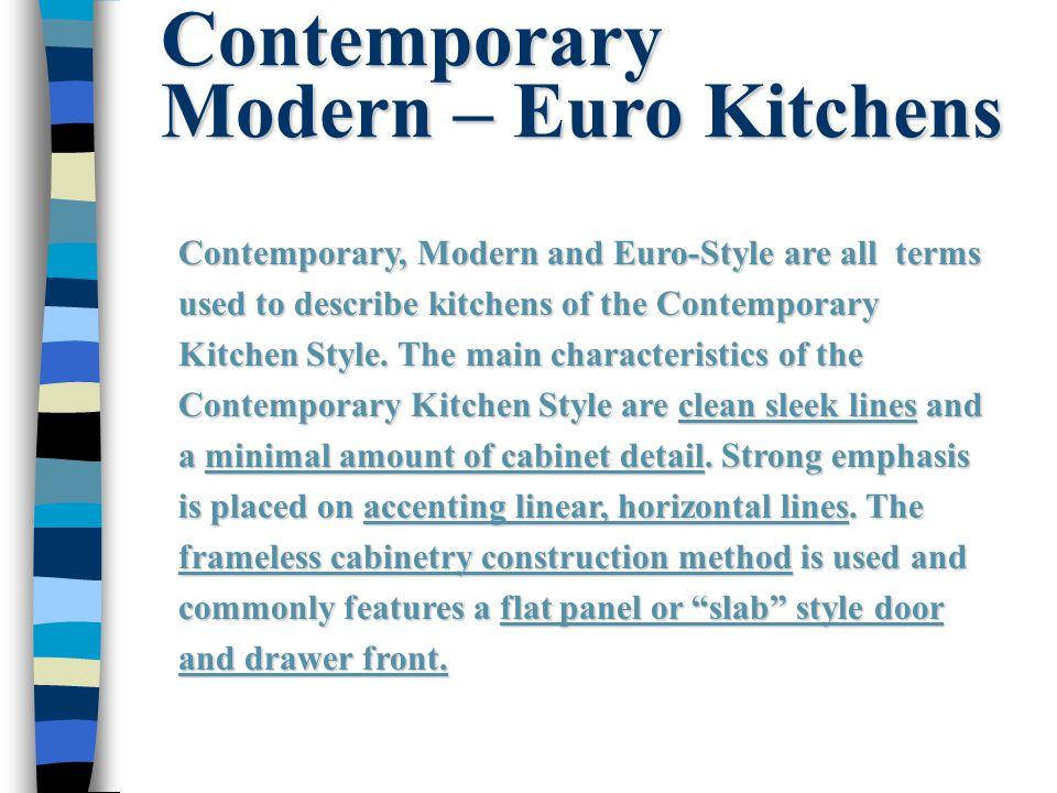 29 Contemporary ...