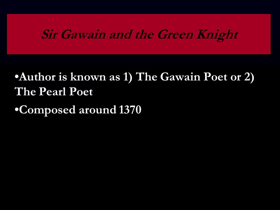 sir gawain and the green knight essay conclusion
